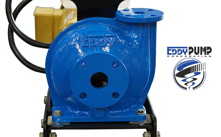 1 inch eddy pump non clog technology for high solids
