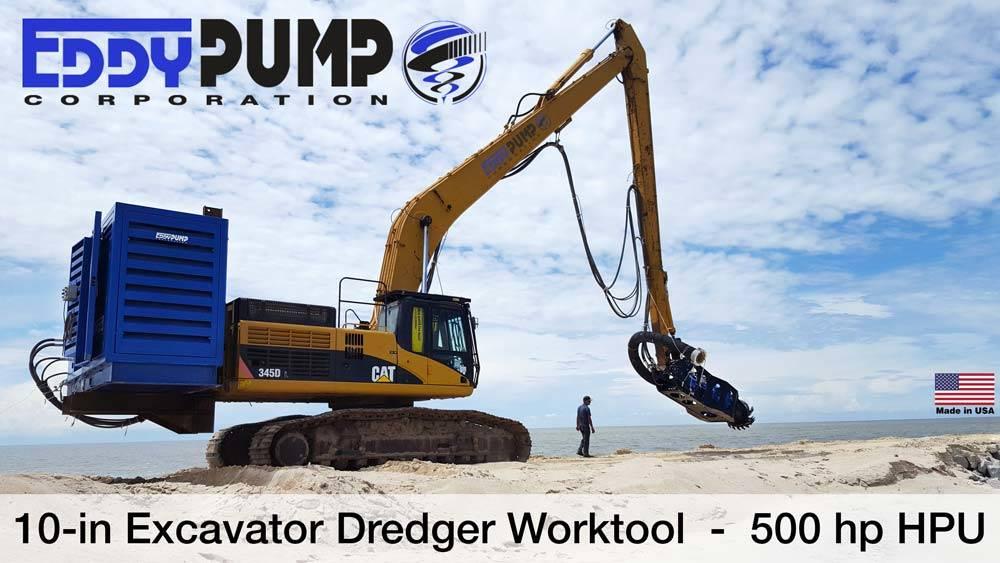Excavator Dredger and HPU for Hyundai Engineering