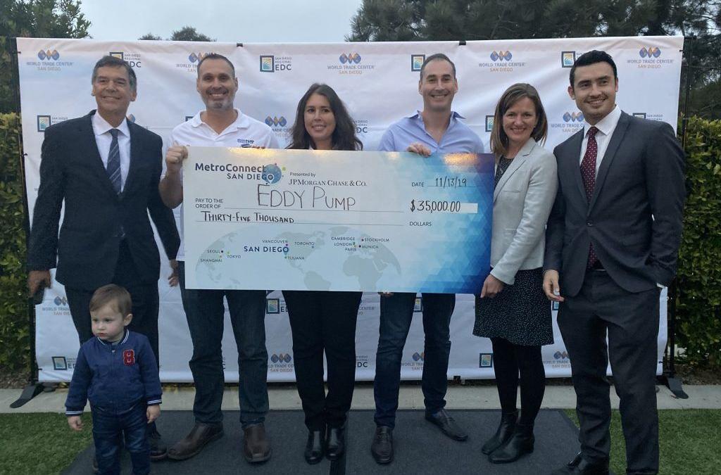EDDY Pump Wins MetroConnect Grand Prize 2019 – $35,000