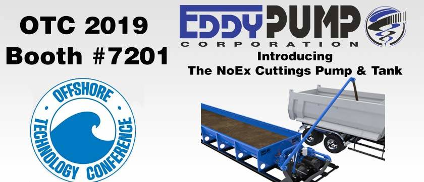 OTC EXPO 2019 – Booth 7201 – NOEX® Drill Cuttings Pump Introduction