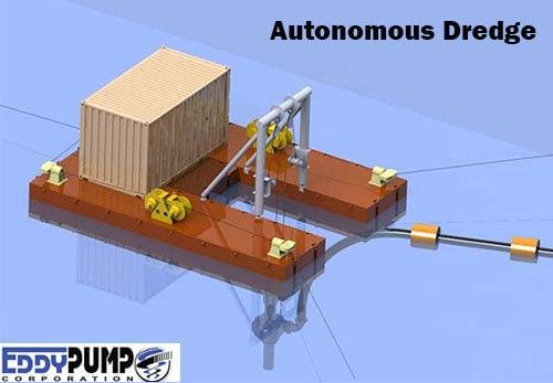 Coal Ash Removal Autonomous Dredger