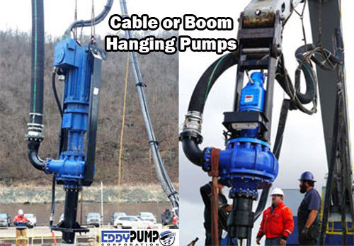 Coal Ash Cable Hanging Pump