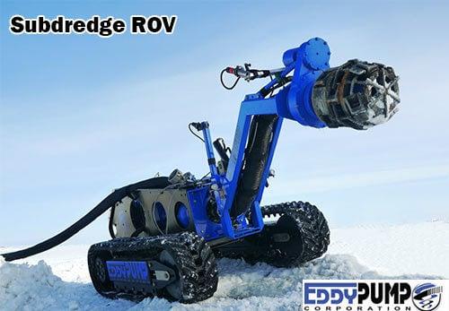 เครื่องมือเกี่ยวกับถ่านหิน Subdredge ROV