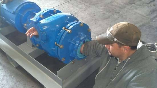 Fully Assembled Dredge Pump - Huge Clearances