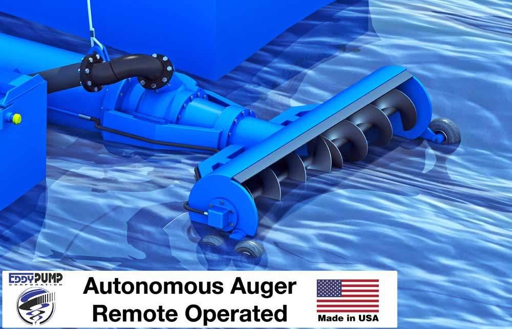 Unmanned Autonomous Dredge