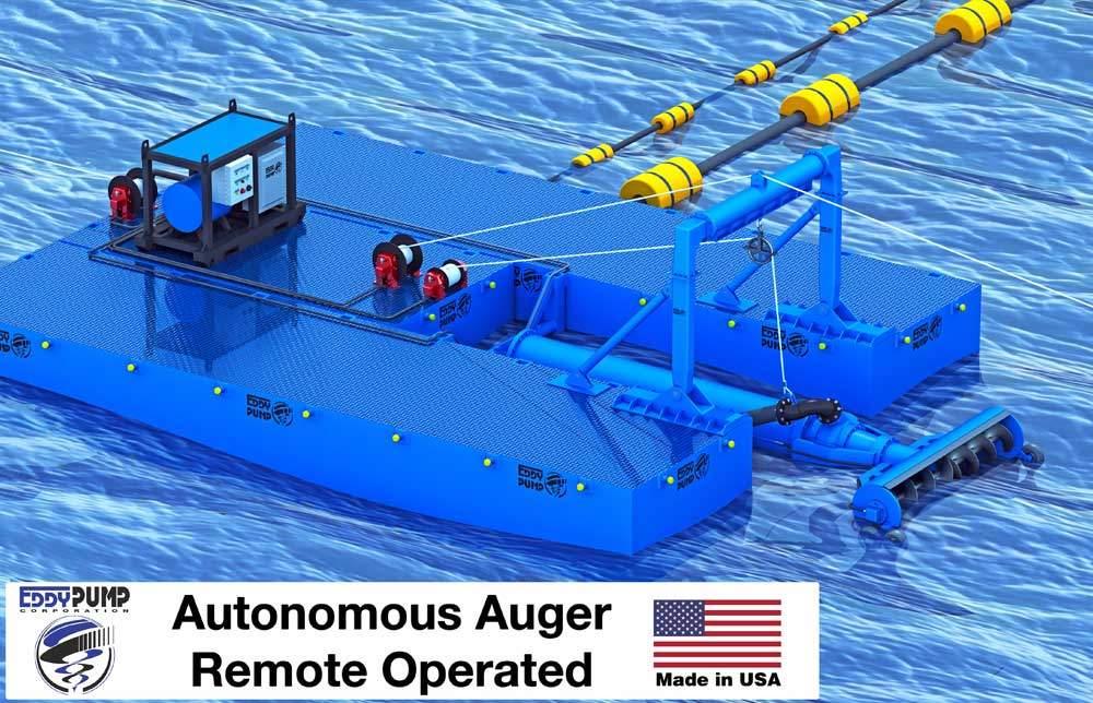 autonomous-auger-dredge-pump