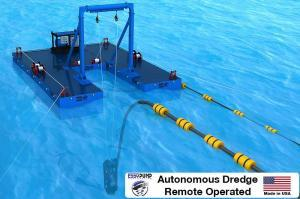 Autonomous Dredge Cable Deployed Remote operated