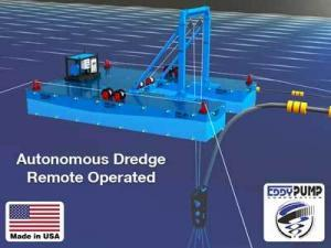 Autonomous or Remote Operated Dredge - EDDY Pump
