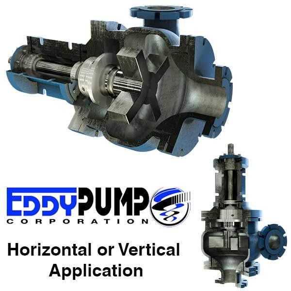 Eddy Pump For High Viscosity