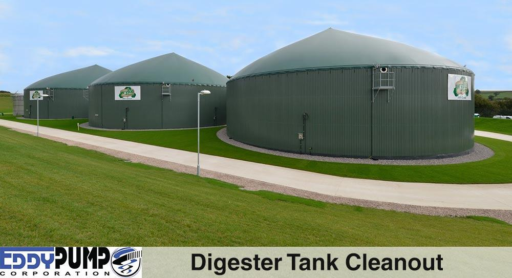 Digester Tank Cleanout