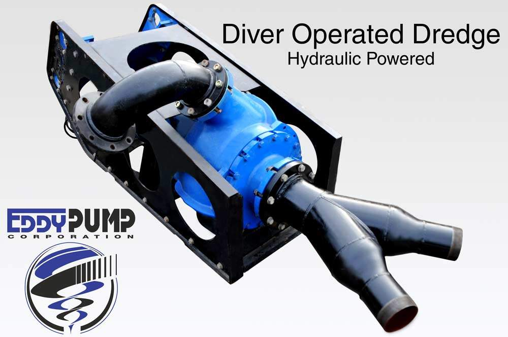 diver operated dredging applications