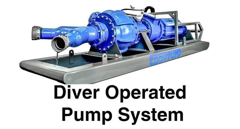 Plongeur-pompe-système-avant-vue