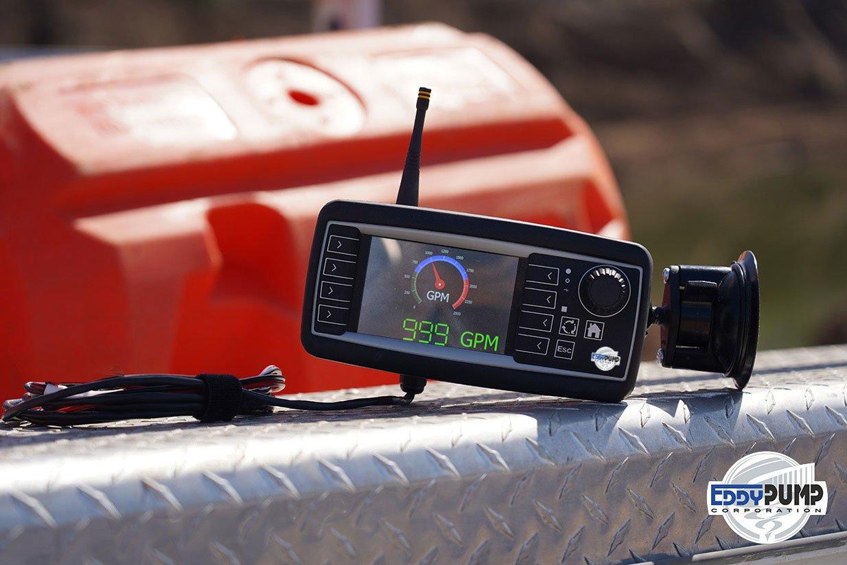 doppler slurry flow meter real time eddy pump