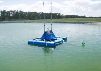wastewater lagoon dredge