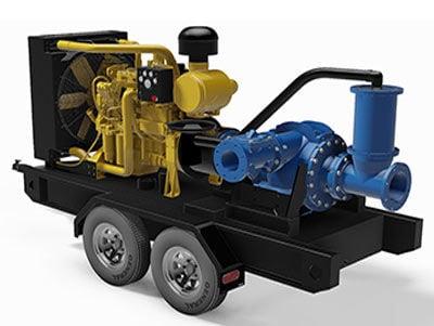 Self priming pump trailer dredger