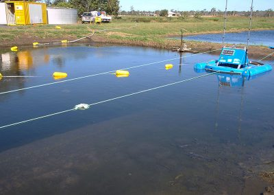 lagoon dredging results