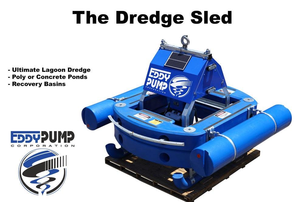 dredge sled benefits lagoon