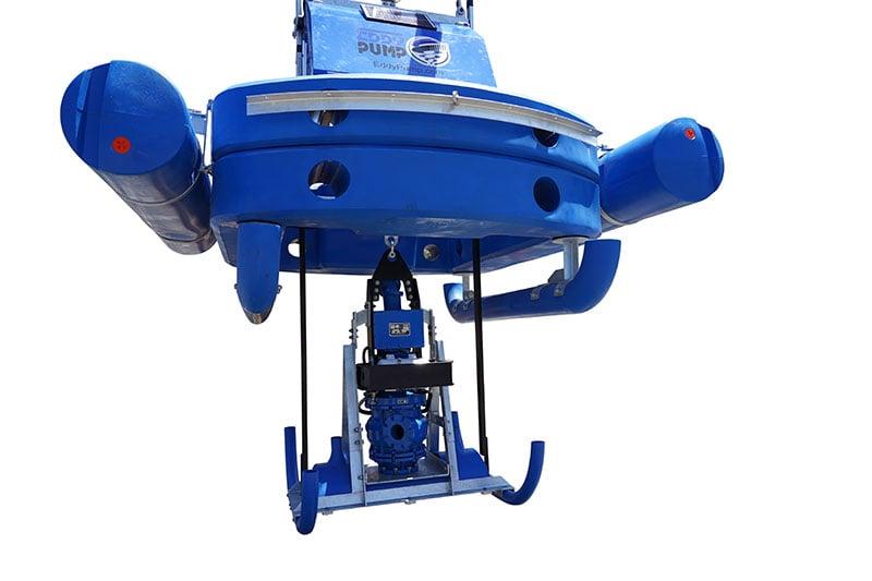 lagoon dredging equipment eddy pump