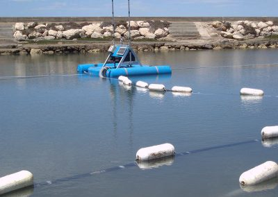 lagoon dredge within wastewater