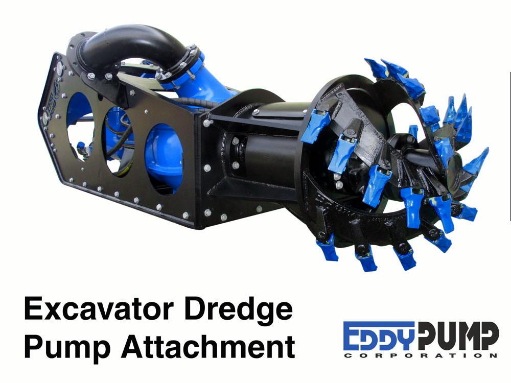 Excavator Dredge Pump Attachment