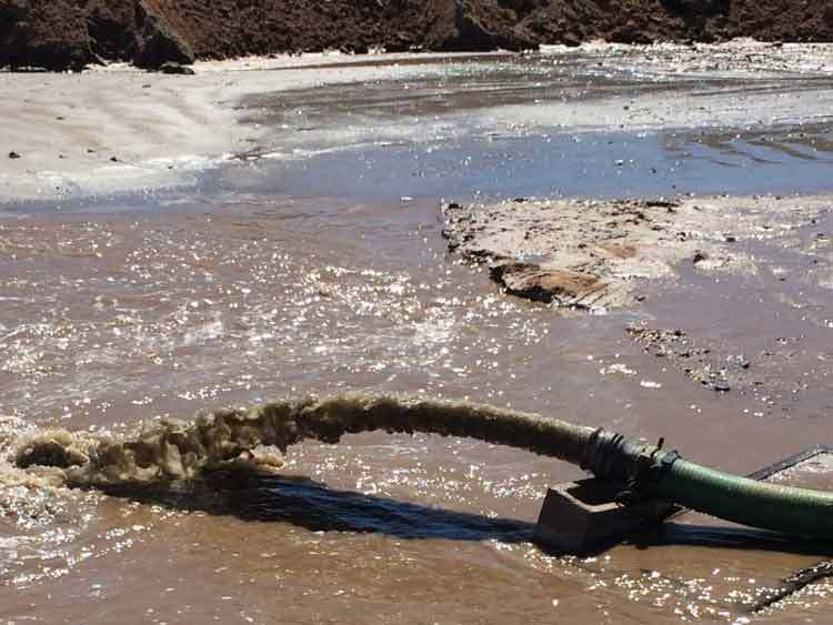 dredging services pumping sand