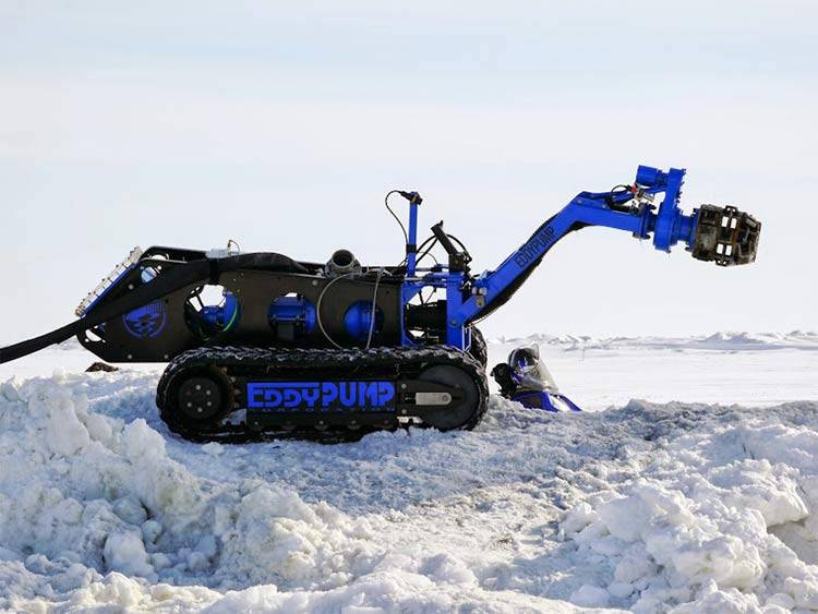 subdredge remote operated dredging equipment