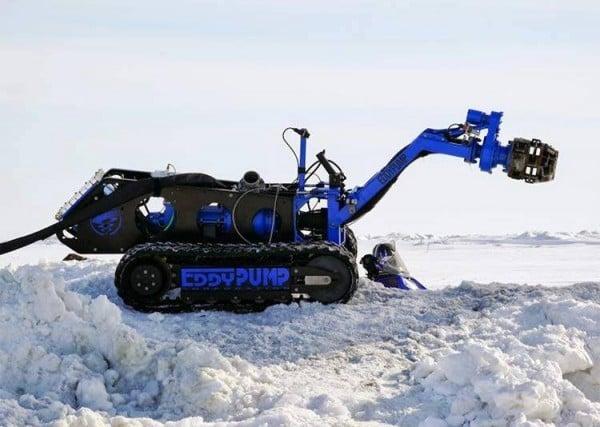 Subdredge peralatan pengerukan yang dioperasikan dengan remote