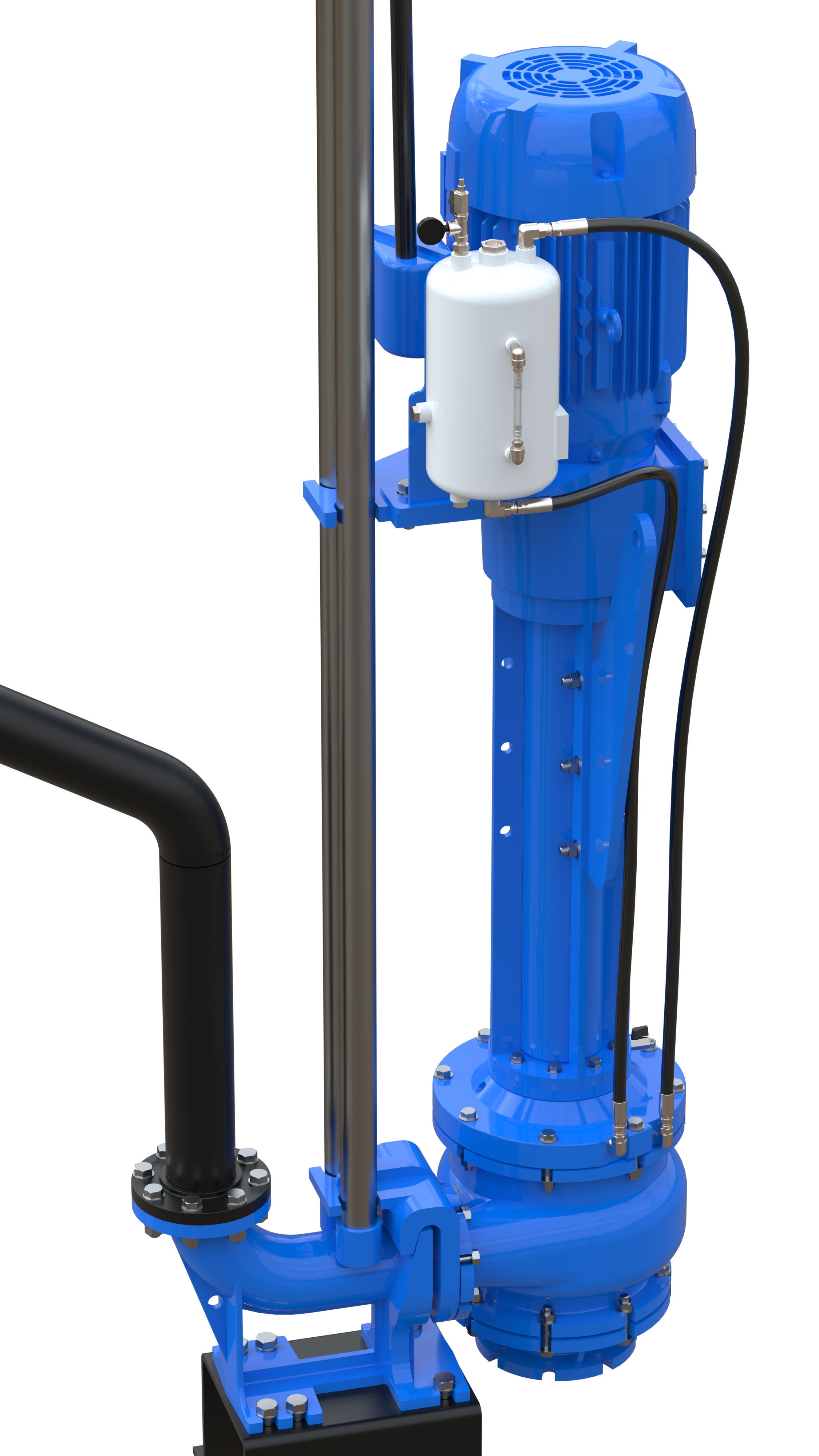 slurry pump for high solids