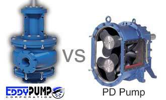 EDDY Pump vs. Positive Displacement Pumps