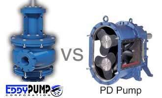 EDDY Pump vs. Positive Displacement Pumps