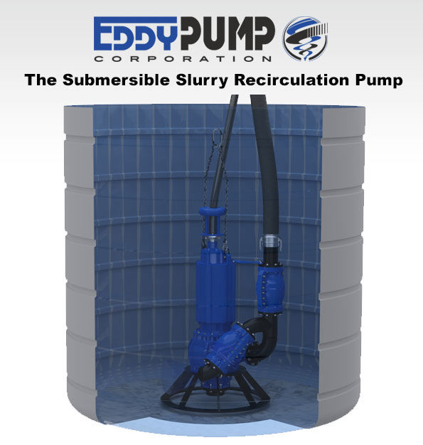 Settling Tank Pumps - Desludging and Cleanup - EDDY Pump OEM