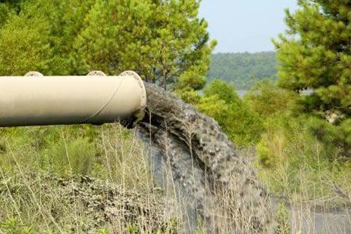 Трубопровод сброса сточных вод