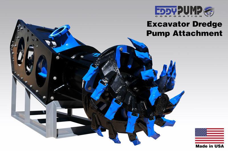 Excavator pump attachment tampilan cutterhead baru