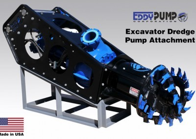 Excavator 6-inch Dredge Pump Attachment With Cutterhead