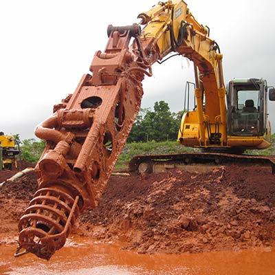 EDDY Pump Excavator Pump Attachment Pumping Bauxite