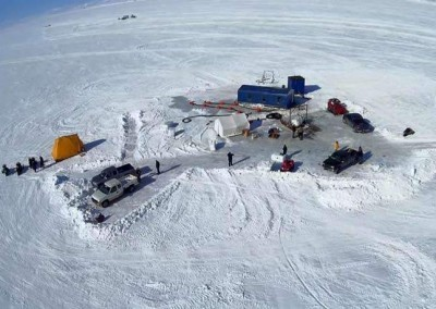 Vista Arial. Bering Sea Gold