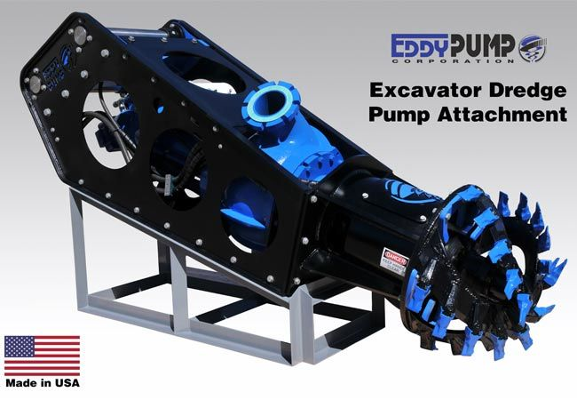 Excavator Dredge Pump Attachment