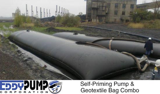 Entwässerungsbeutel - Geotubesedimententfernung