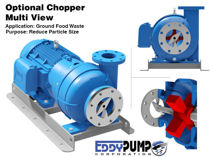 Ground Food Waste Pumps