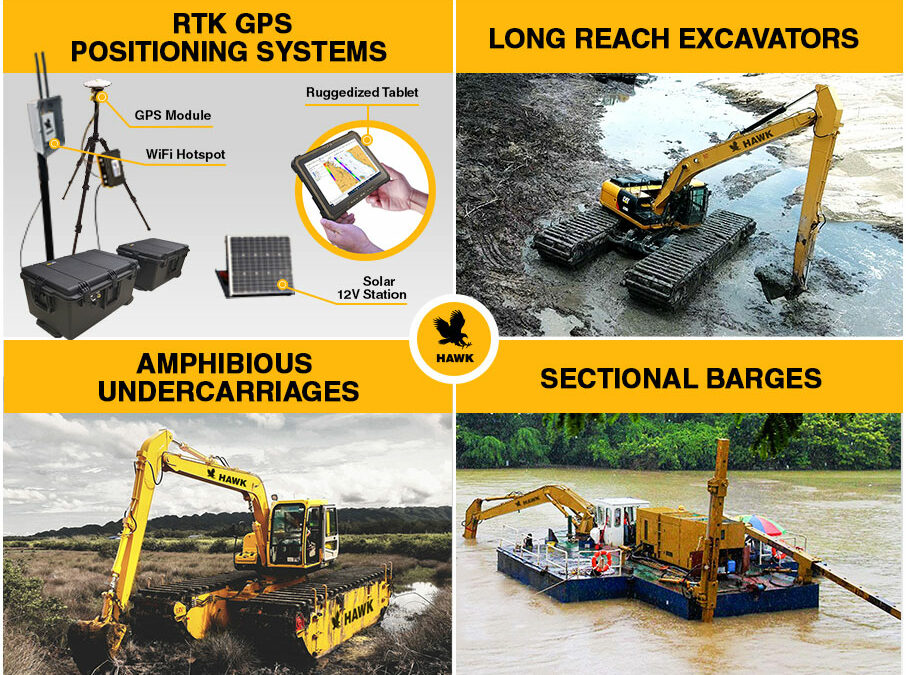 New Distribution Deal – HAWK Excavator Products, Distributed by EDDY Pump