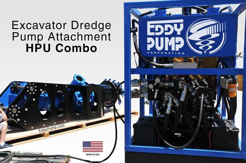 sistema escavador-dredger-hpu-combo