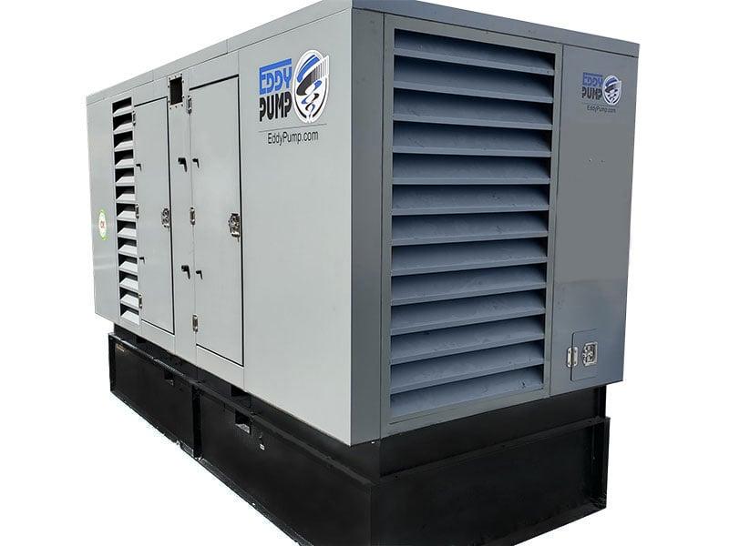 hydraulic power unit for eddy pump dredging