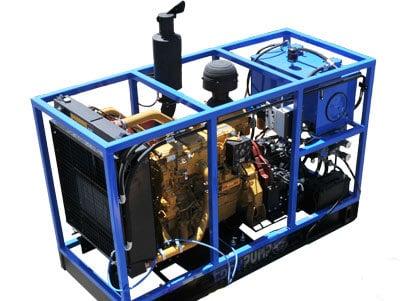HPU  - 油圧パワーユニット - 詳細