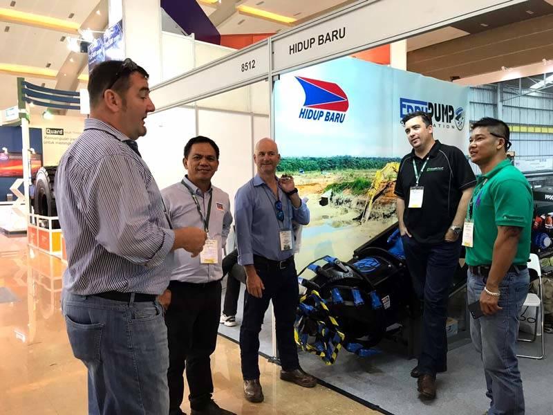 Indonesia Mining 2017 - EDDY Pump Dredging