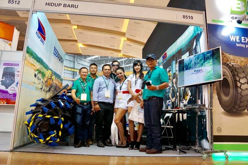 Indonesia Mining 2017 - EDDY Pump Dredge Pumps