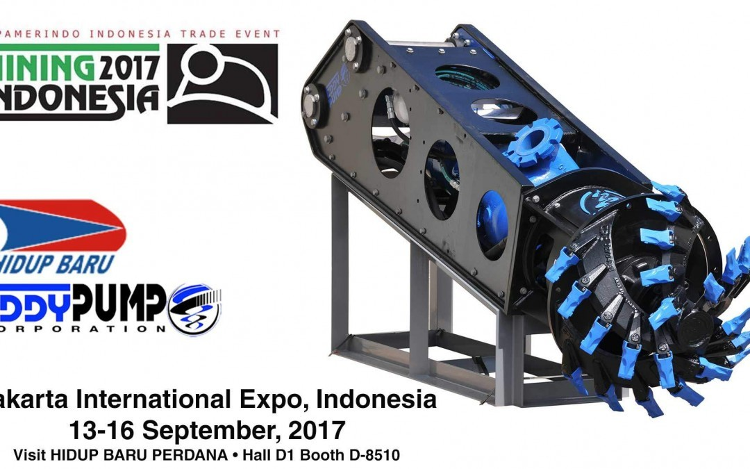 Mining Indonesia 2017 Expo – Visit Hidup Baru to See our Excavator Dredger