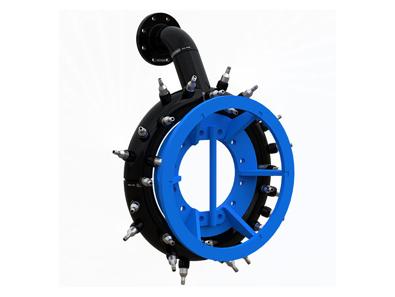 water jetting ring dredge attachment