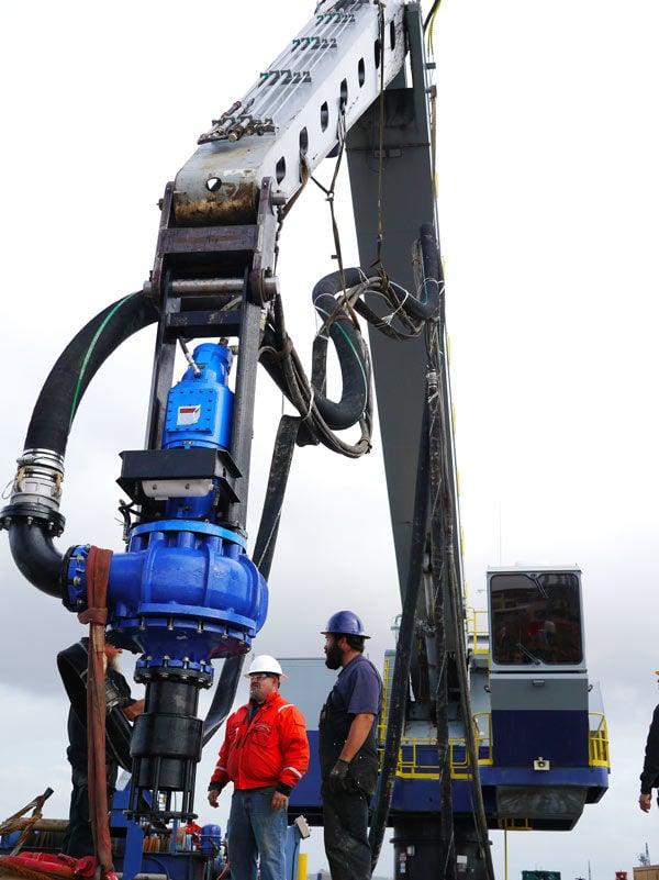 Crane Mounted EDDY Dredge Pump