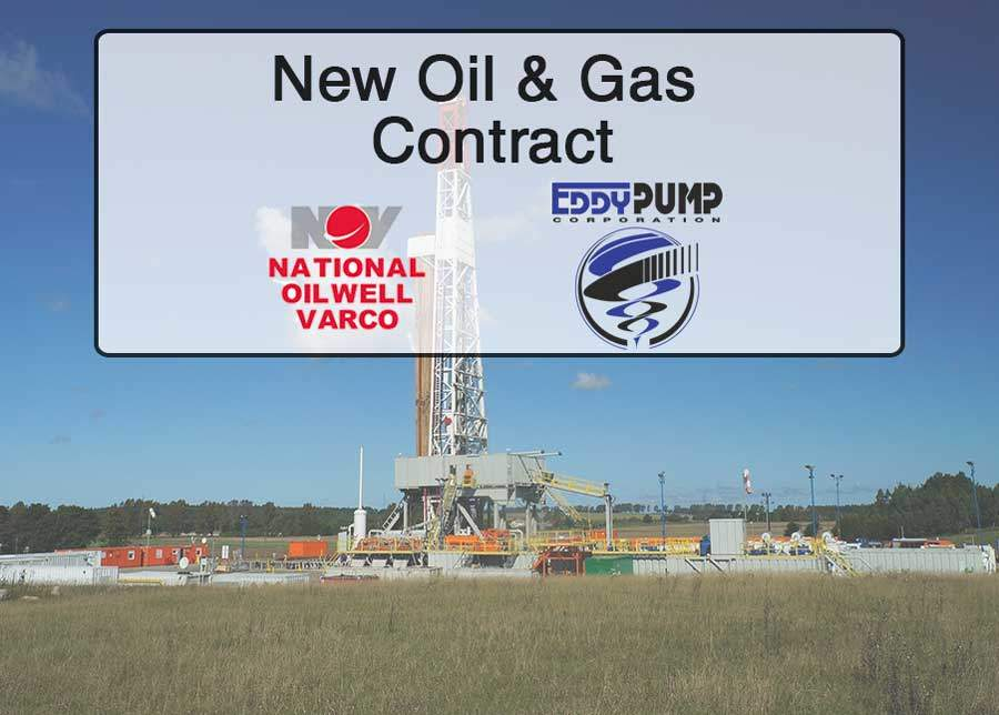 Drilling Mud Pumps – New Oil and Gas Contract With NOV