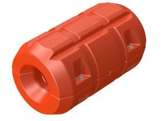 Flotadores de tubos para dragado